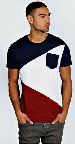 Mens Designer Half Sleeve T-Shirt
