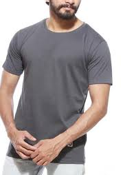 Mens Plain Half Sleeve T-Shirt