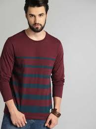 Mens Trendy Round Neck T-Shirt