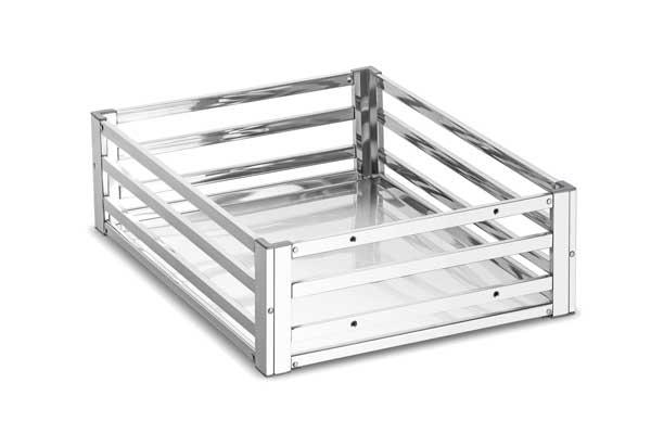 Plain Stainless Steel Pipe Basket