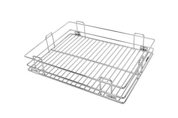 Platinum Plain Drawer Basket