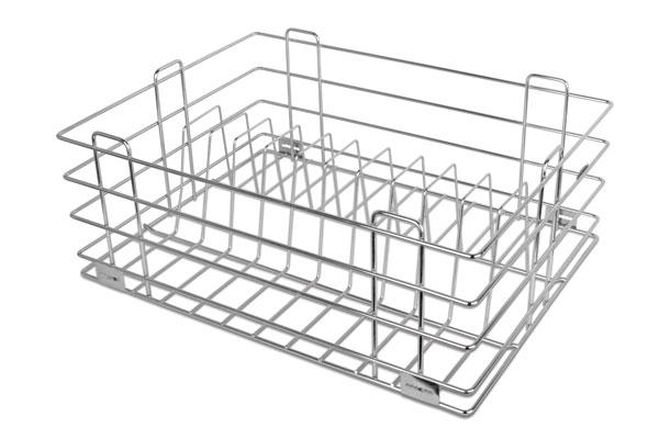Platinum Thali & Plate Drawer Basket