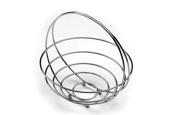 Stainless Steel Fruit Basket With Handle