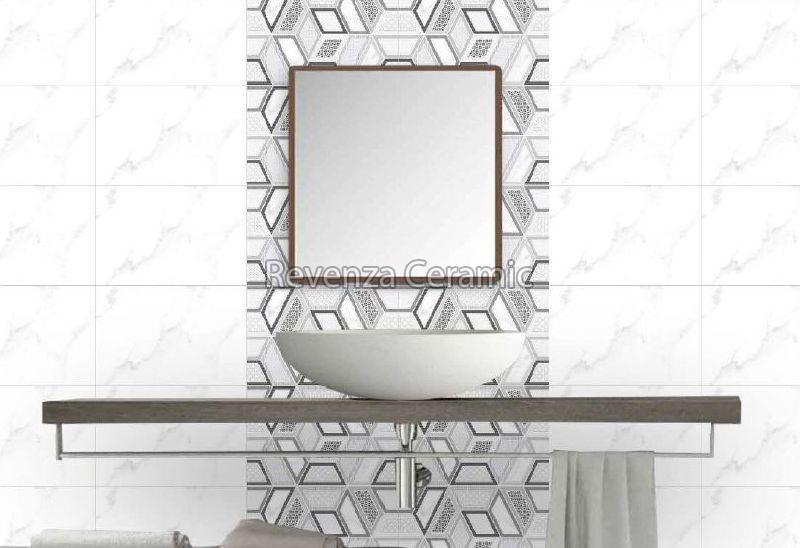 300 x 450mm Super White Series Tiles
