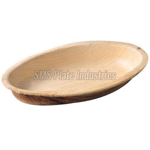 Areca Leaf Oval Plate