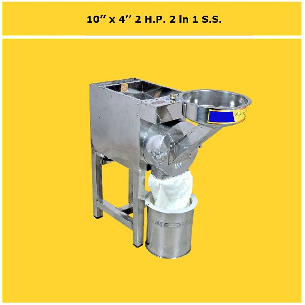 Semi-Automatic Spice Grinding Machine
