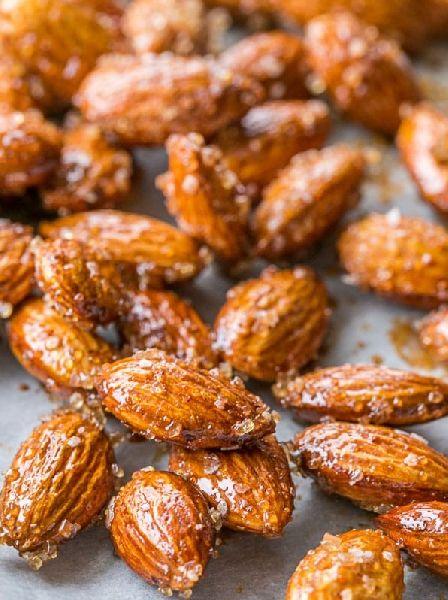 Honey Pepper Almonds