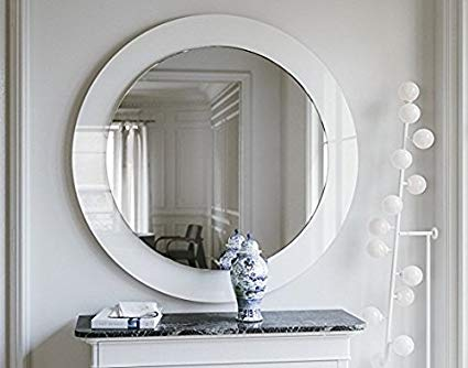 Glass Frame Mirror