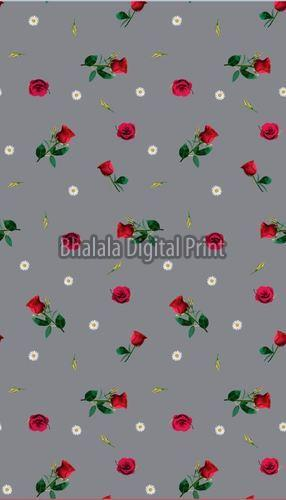 Digital Print American Crepe Fabric
