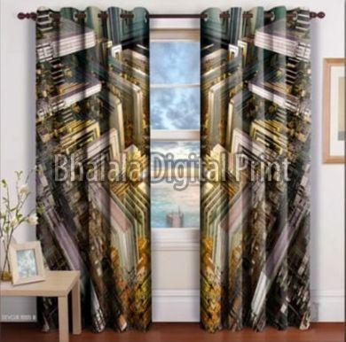 Digital Print Designer Curtain
