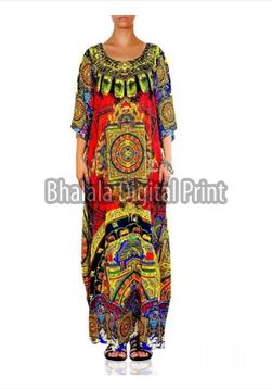 Digital Print Luxury Kaftan