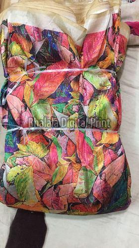 Digital Print Zarna Silk Fabric