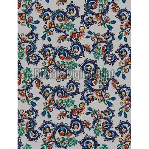 Digital Printed Polyester Fabric