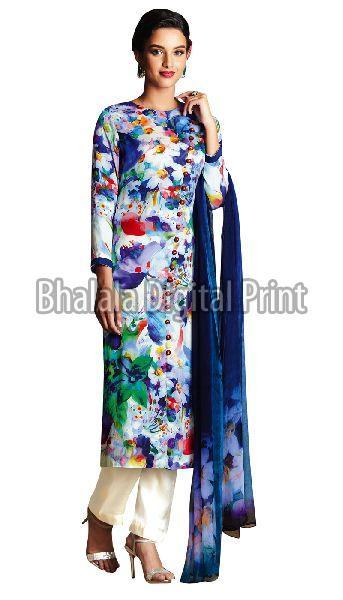 Digital Printed Suit Fabric