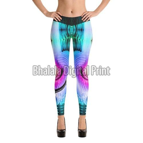Printed Spandex Leggings