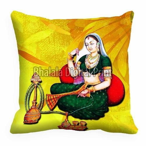 Satin Digital Printed Cushion Cover