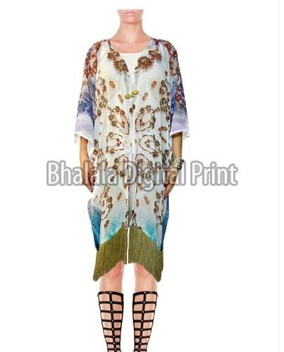 Short Georgette Kimono Jacket