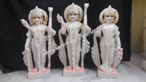 Marble Ram Darbar Family Moorti