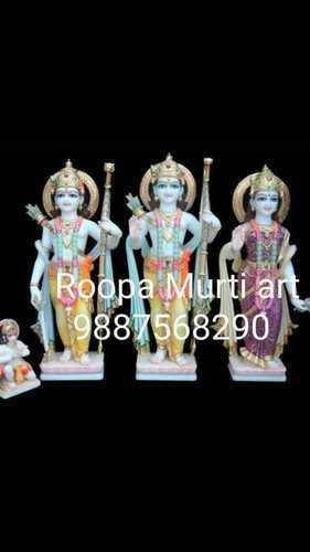 Ram Darbar Marble Murti With Hanuman