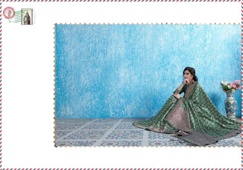 Tanchui Art Silk Saree