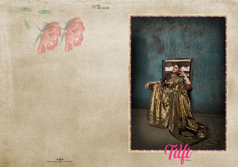 Tulfi Vol 3 Kanjivaram Art Silk Saree