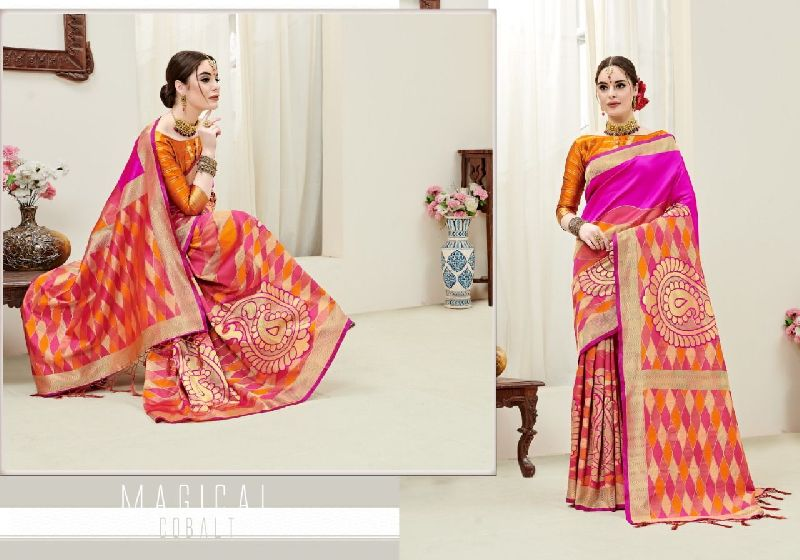 Umanga Vol 3 Kanjivaram Art Silk Saree