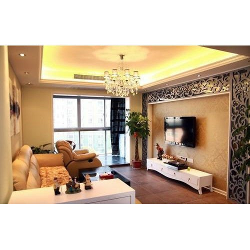 PVC Living Room Interior Designing Services
