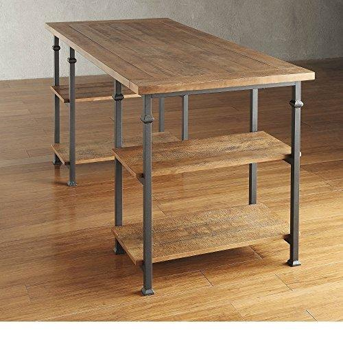Industrial Wooden Desk