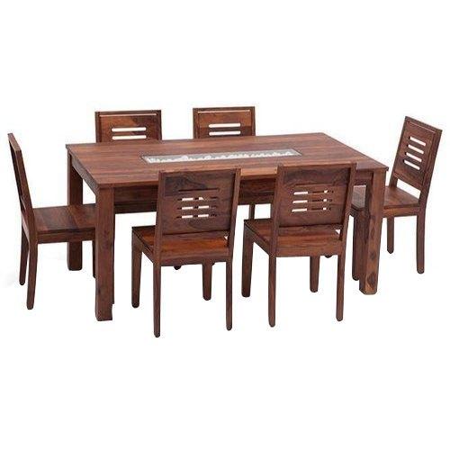 Sheesham Wood Dining Table Set