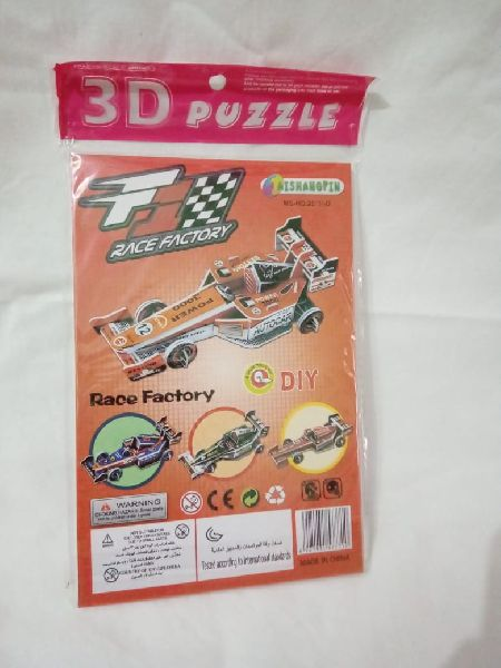 Race Factory Puzzle Game