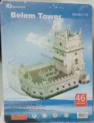 Belem Tower Puzzle Game