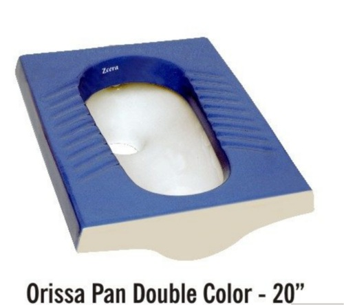 Double Color Orissa Pan Toilet Seat