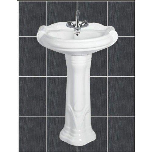 Mini Sterling Pedestal Wash Basin
