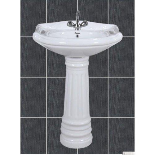 Rajwadi Pedestal Wash Basin