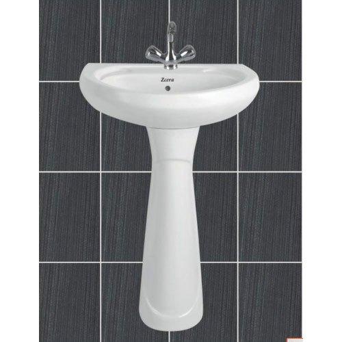 Repose Pedestal Wash Basin