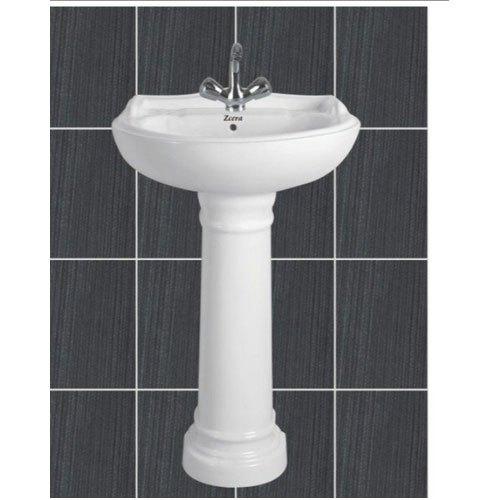 Star Gold Pedestal Wash Basin