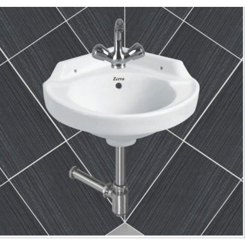 Wall Mounted Corner Wash Basin