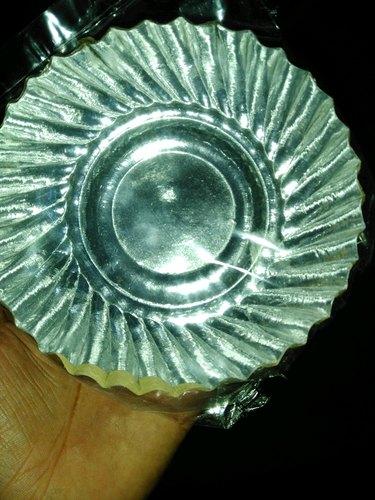 Designer Silver Paper Plates