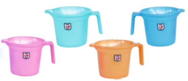 Plain Plastic Bath Mug