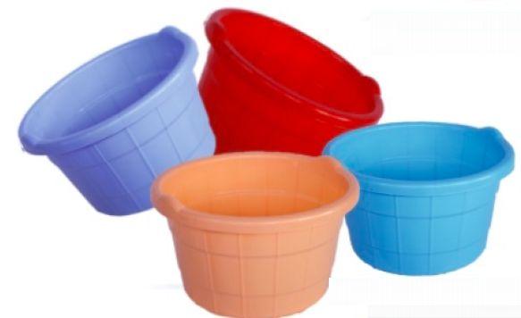 Plain Plastic Bath Tub