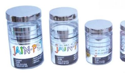 Silver Line Pet Jar