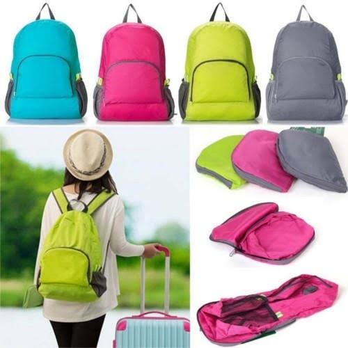 Folding Backpack Bag