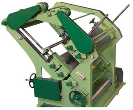 Double Profile Single Face Paper Corrugating Machine