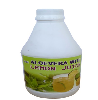 Aloe Vera with Lemon Juice
