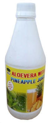 Aloe Vera with Pineapple Juice