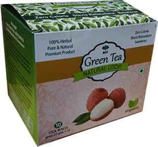 Litchi Green Tea
