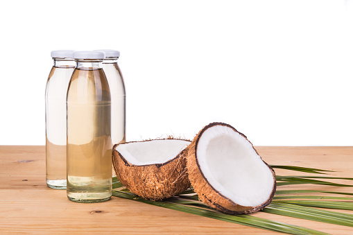 Wood Pressed Coconut Oil