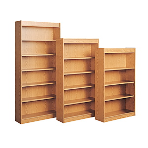 Wooden Library Rack