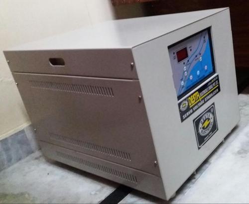 15 KVA Single Phase Servo Voltage Stabilizer