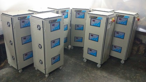15 KVA Three Phase Servo Voltage Stabilizer